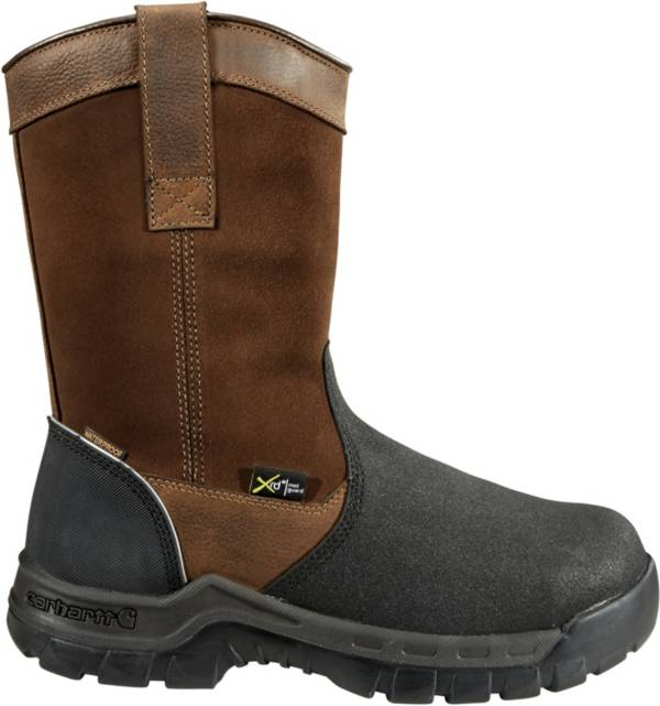 Carhartt Men's 11'' Wellington Waterproof MetGuard Composite Toe Work Boots product image
