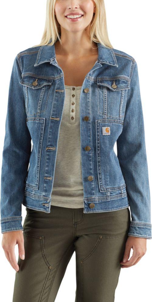 3361536c58 Carhartt Women's Benson Denim Jacket. noImageFound. Previous. 1. 2