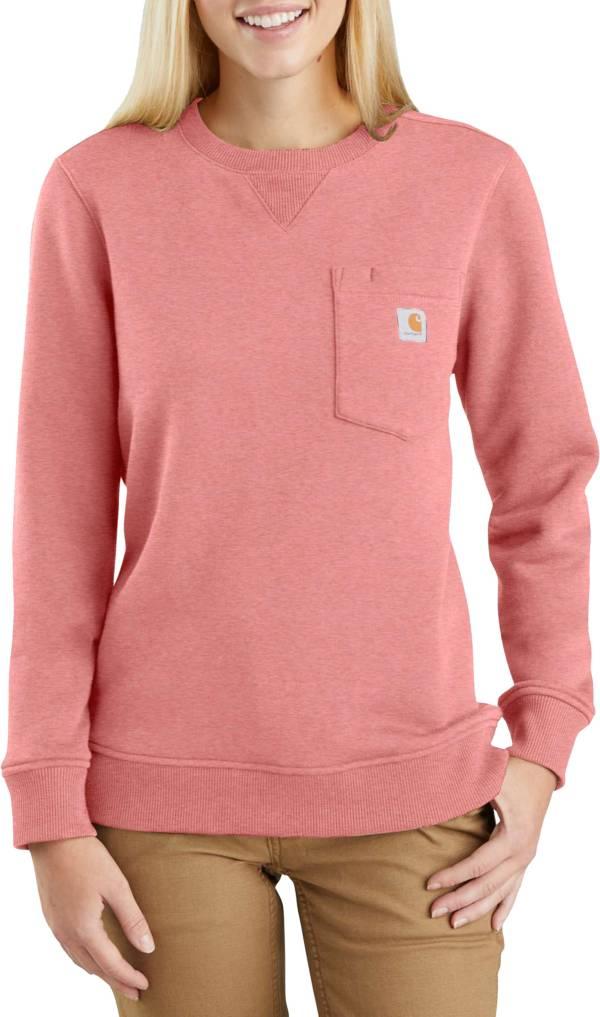 Carhartt Women's Clarksburg Crewneck Pocket Sweatshirt product image