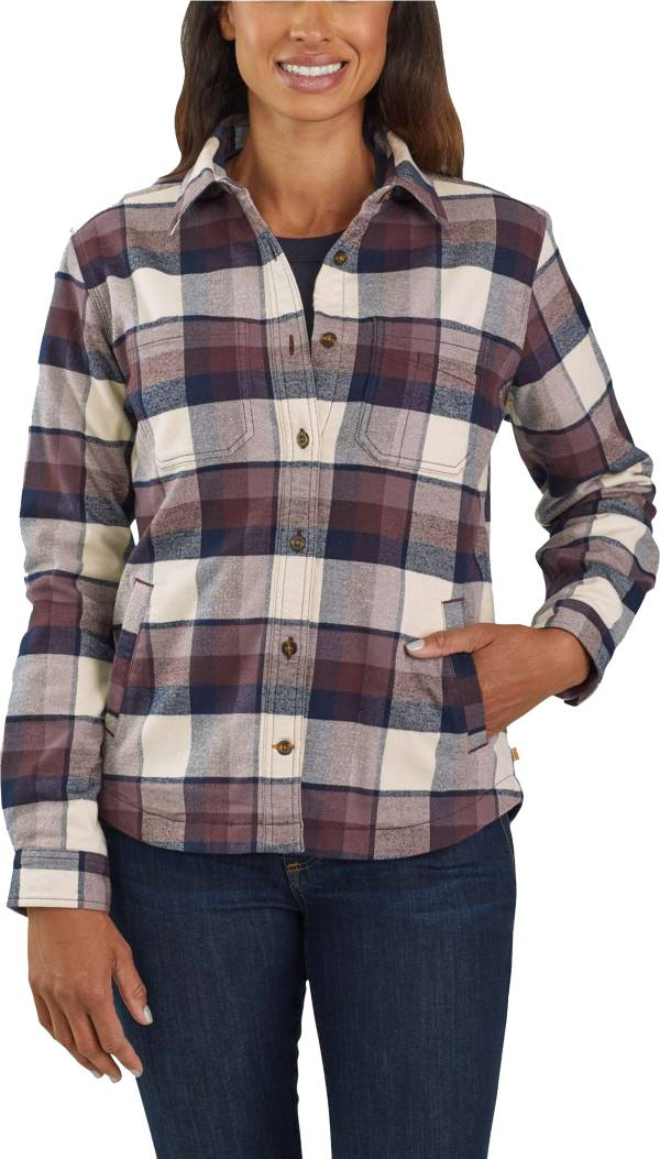 Carhartt Women's Rugged Flex Hamilton Fleece-Lined Shirt product image