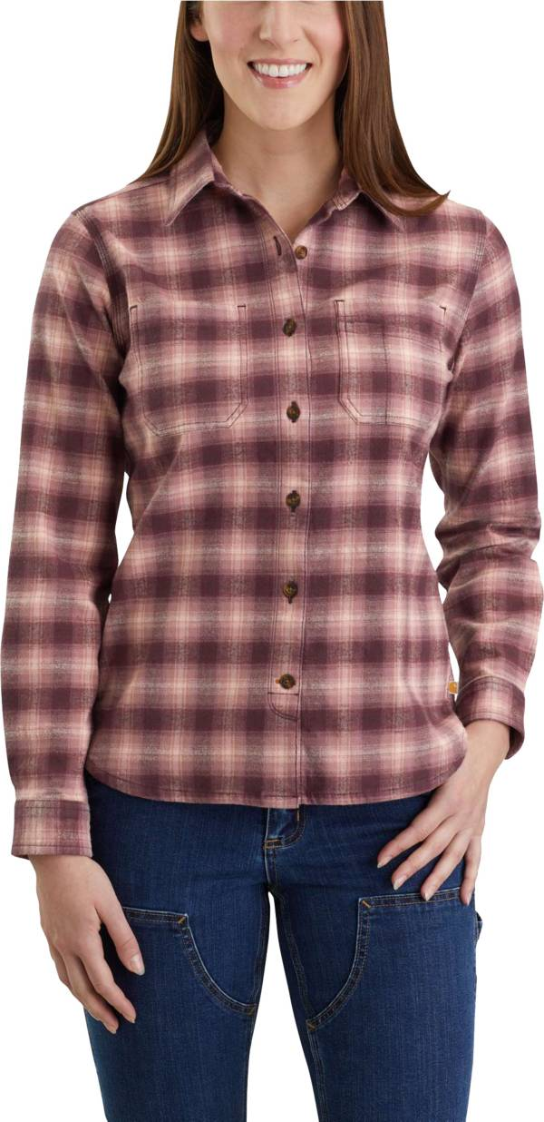 Carhartt Women's Rugged Flex Hamilton Flannel Shirt product image
