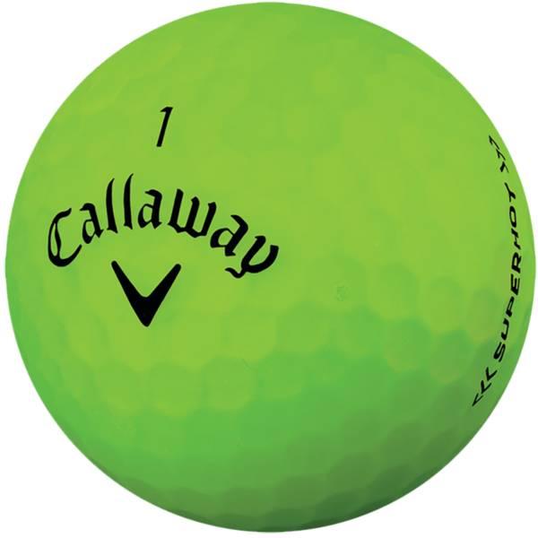 Callaway Superhot BOLD Matte Green Golf Balls – 15 Pack product image