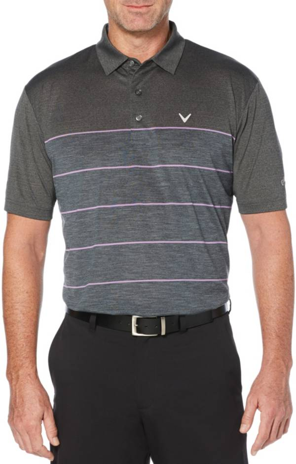 Callaway Men's Heather Stripe Golf Polo – Big & Tall product image