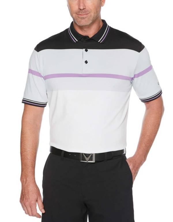 Callaway Men's Color Block Chest Stripe Golf Polo product image