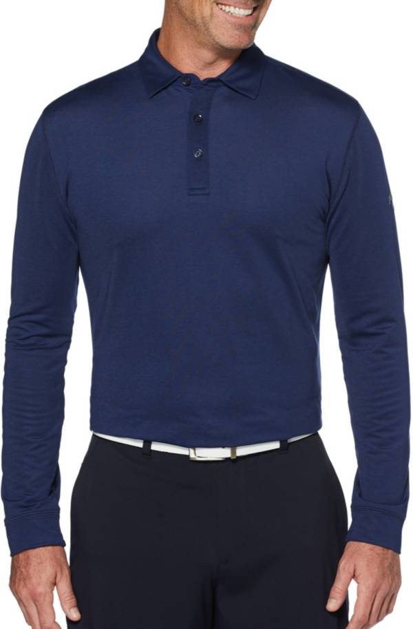 Callaway Men's Heather Long Sleeve Golf Polo product image