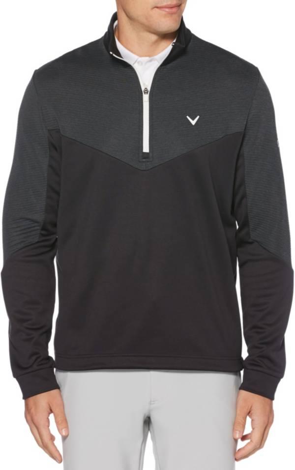 Callaway Men's Midweight ¼ Zip Ottoman Golf Pullover product image