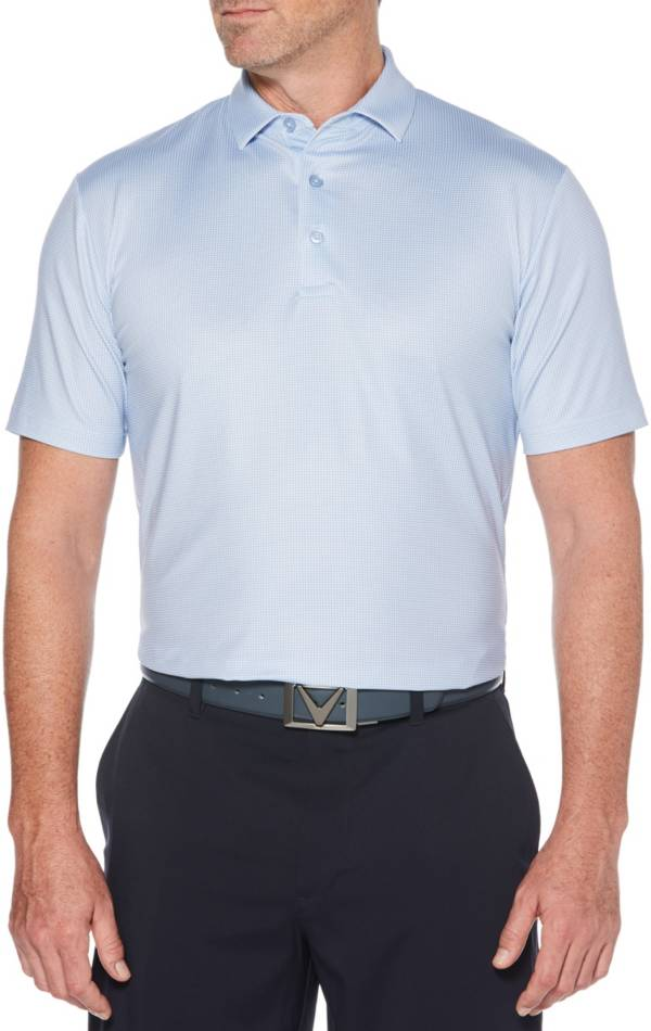 Callaway Men's Printed Gingham Golf Polo product image