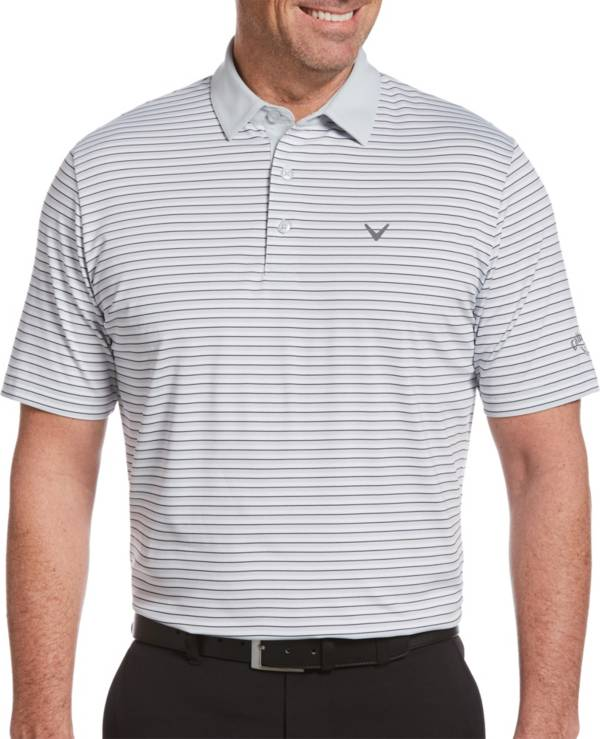 Callaway Men's Refined 3 Color Stripe Golf Polo product image