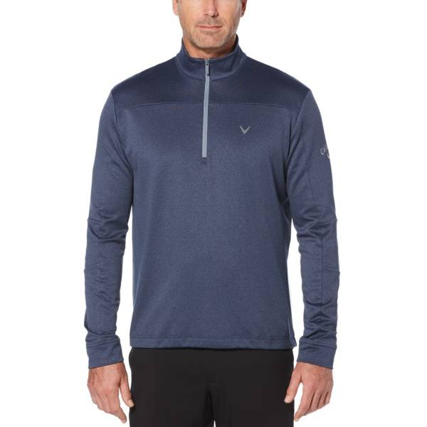 Callaway Men's Stretch Waffle ¼ Zip Golf Pullover – Big & Tall product image