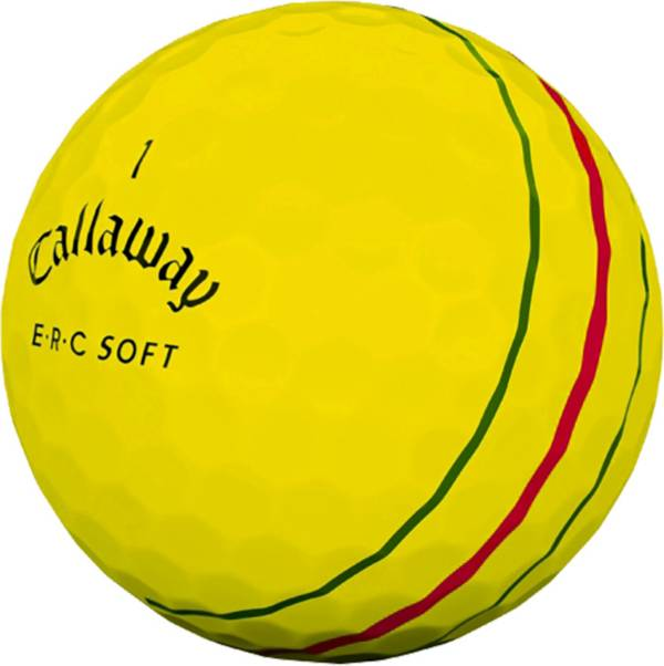 Callaway ERC Soft Yellow Personalized Golf Balls product image