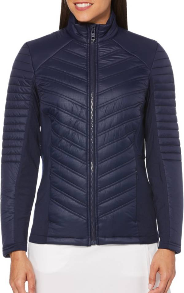 Callaway Women's Mixed Media Puffer Golf Jacket product image