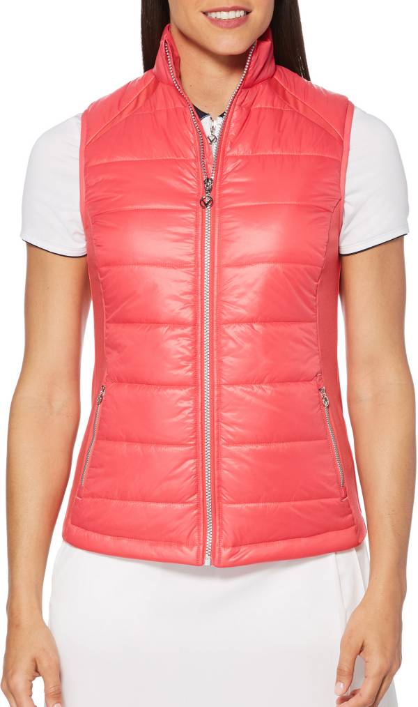 Callaway Women's Mixed Media Puffer Golf Vest product image