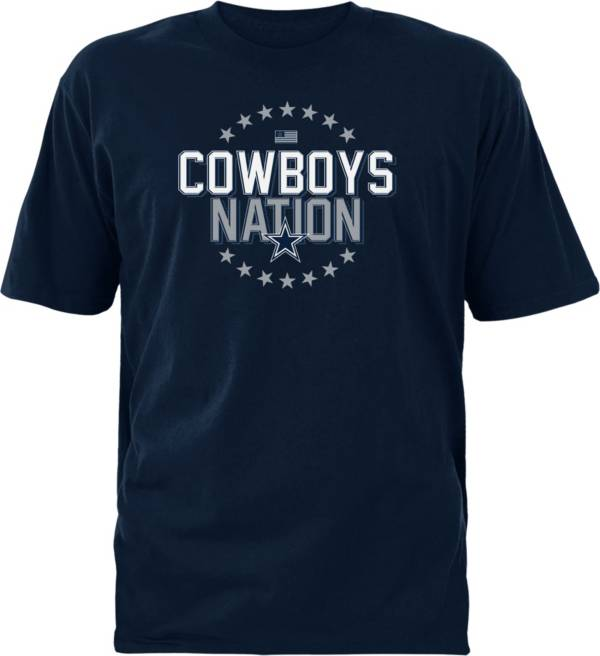 Dallas Cowboys Merchandising Men's Cowboys Nation Navy T-Shirt product image
