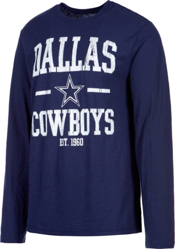 Dallas Cowboys Merchandising Men's Magnus Navy Long Sleeve Shirt product image