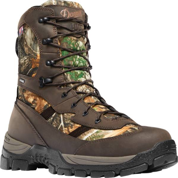 "Danner Men's Alsea 8"" Realtree Edge 400g Waterproof Hunting Boots product image"