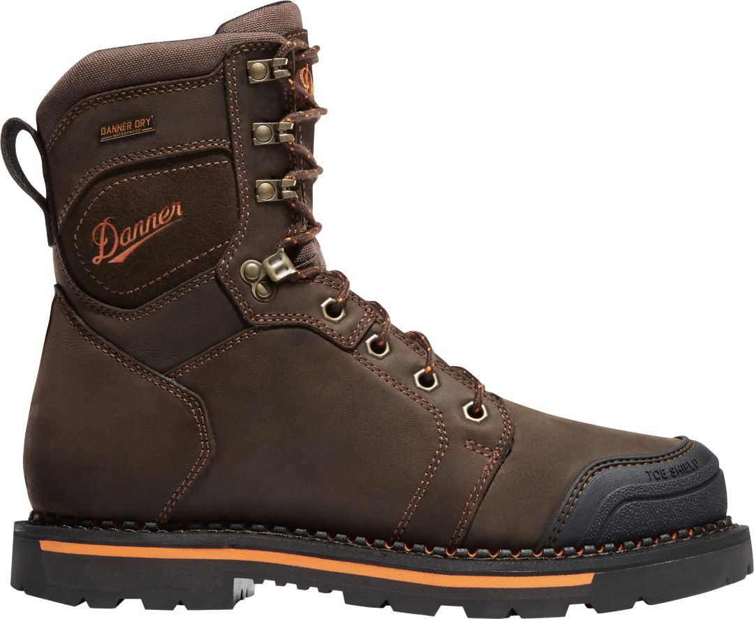 78350b63319 Danner Men's Trakwelt 8'' Waterproof Composite Toe Work Boots