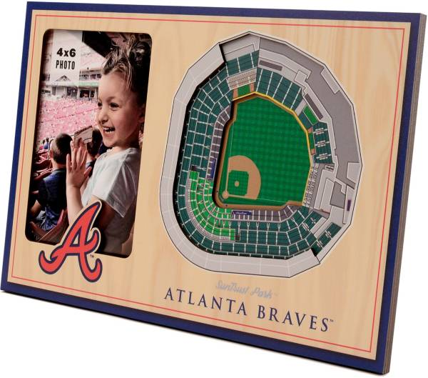You the Fan Atlanta Braves 3D Picture Frame product image