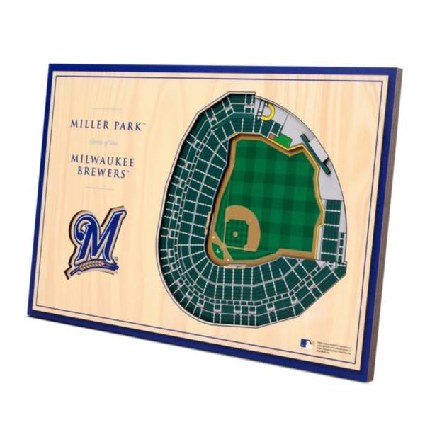 You the Fan Milwaukee Brewers Stadium Views Desktop 3D Picture product image