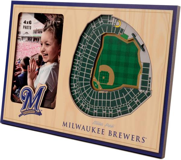You the Fan Milwaukee Brewers 3D Picture Frame product image
