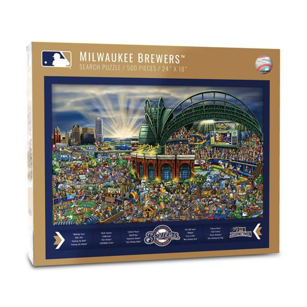You the Fan Milwaukee Brewers Find Joe Journeyman Puzzle product image