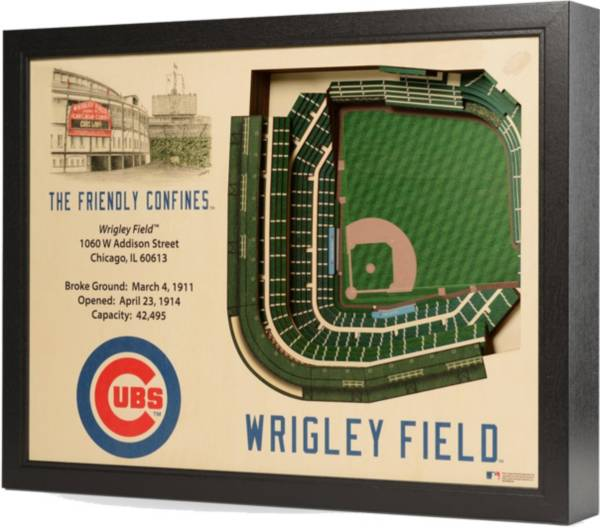 You the Fan Chicago Cubs 25-Layer StadiumViews 3D Wall Art product image