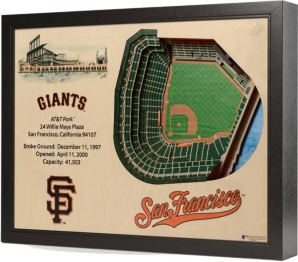 You the Fan San Francisco Giants 25-Layer StadiumViews 3D Wall Art product image
