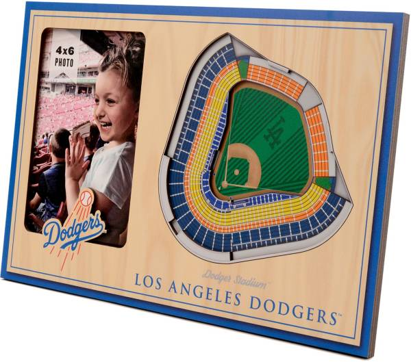 You the Fan Los Angeles Dodgers 3D Picture Frame product image