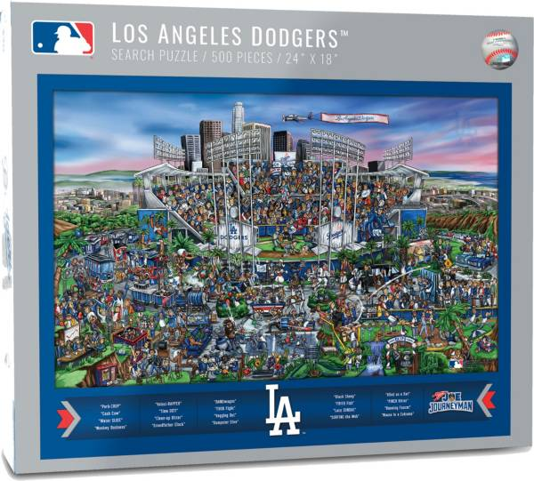 You the Fan Los Angeles Dodgers Find Joe Journeyman Puzzle product image