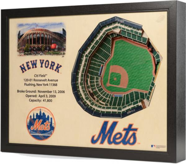 You the Fan New York Mets 25-Layer StadiumViews 3D Wall Art product image