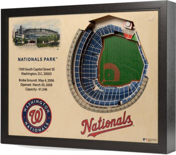 You the Fan Washington Nationals 25-Layer StadiumViews 3D Wall Art product image