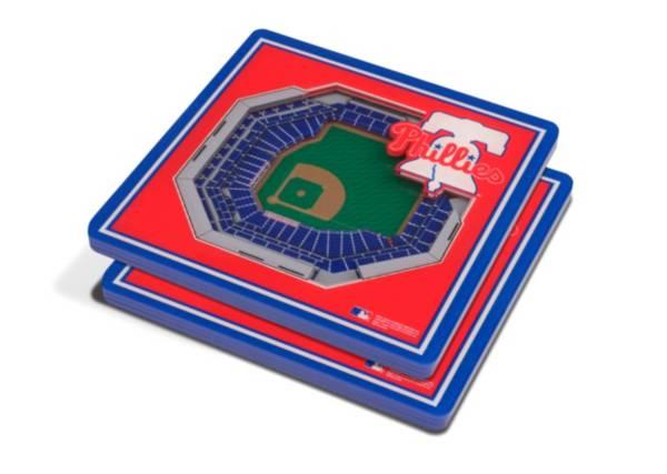 You the Fan Philadelphia Phillies 3D Stadium Views Coaster Set product image
