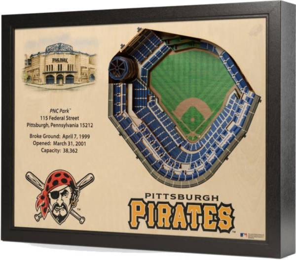 You the Fan Pittsburgh Pirates 25-Layer StadiumViews 3D Wall Art product image