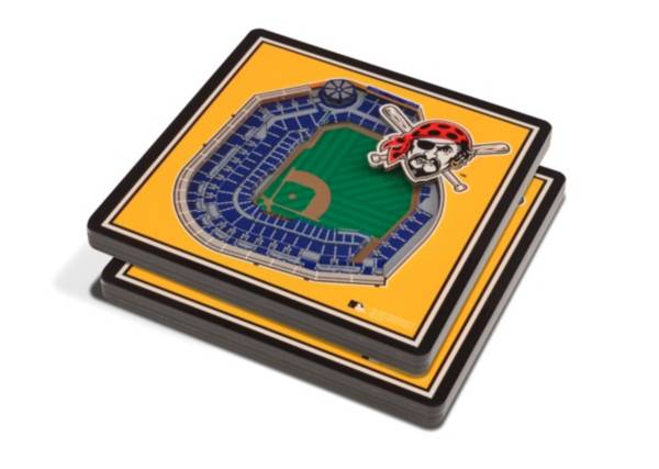 You the Fan Pittsburgh Pirates 3D Stadium Views Coaster Set product image