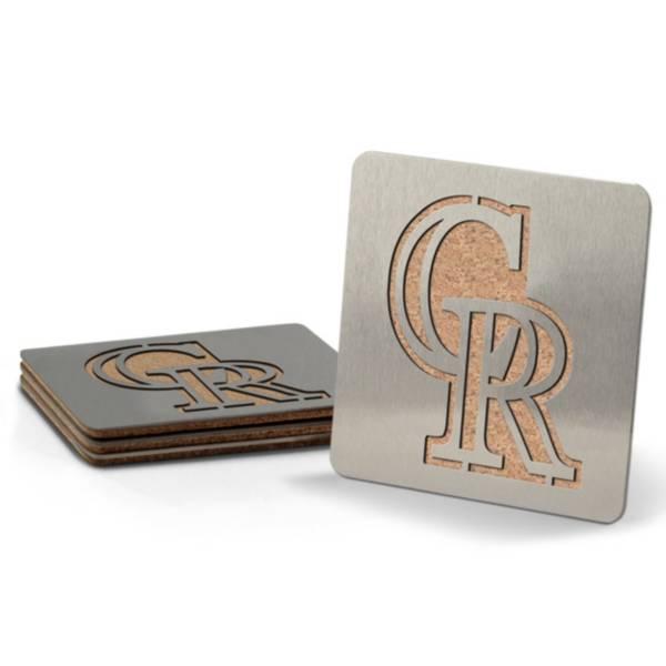 You the Fan Colorado Rockies Coaster Set product image