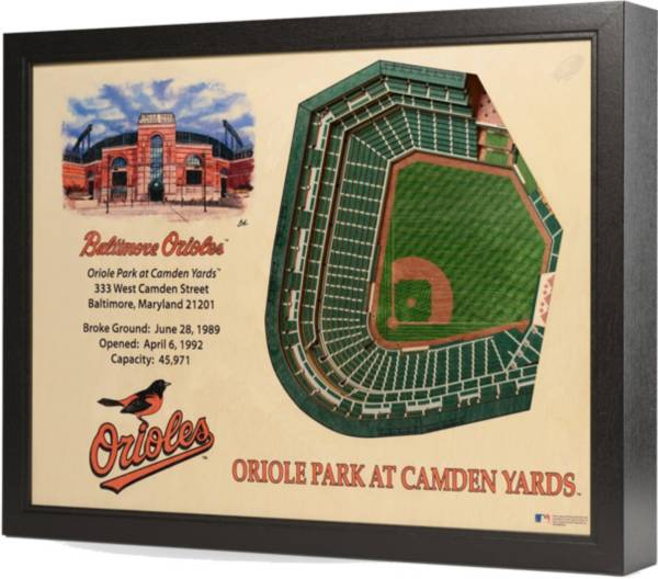 You the Fan Baltimore Orioles 25-Layer StadiumViews 3D Wall Art product image
