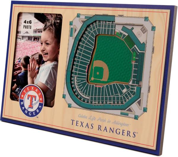 You the Fan Texas Rangers 3D Picture Frame product image