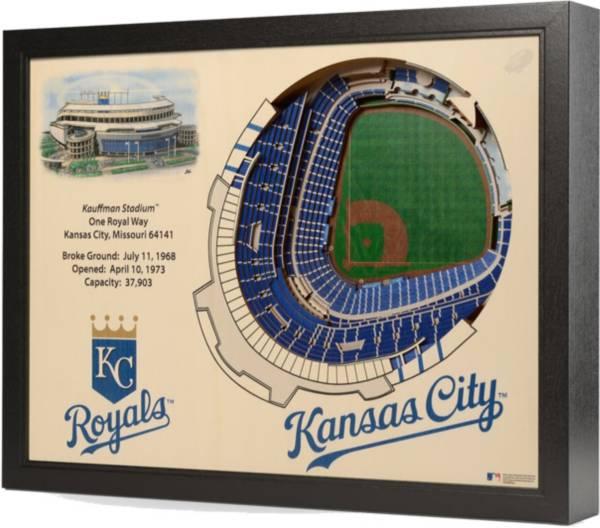 You the Fan Kansas City Royals 25-Layer StadiumViews 3D Wall Art product image