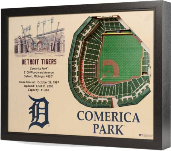 You the Fan Detroit Tigers 25-Layer StadiumViews 3D Wall Art product image