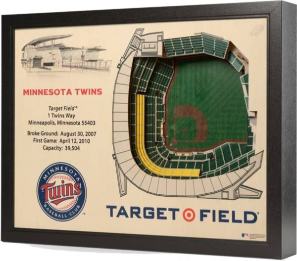 You the Fan Minnesota Twins 25-Layer StadiumViews 3D Wall Art product image