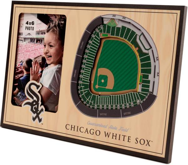 You the Fan Chicago White Sox 3D Picture Frame product image