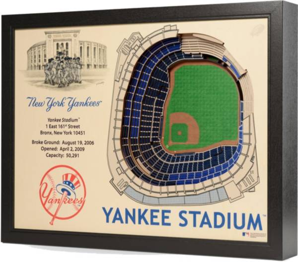 You the Fan New York Yankees 25-Layer StadiumViews 3D Wall Art product image