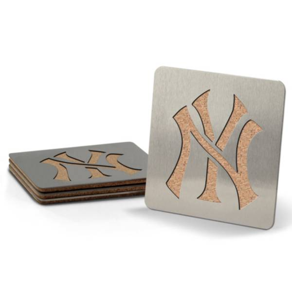 You the Fan New York Yankees Coaster Set product image