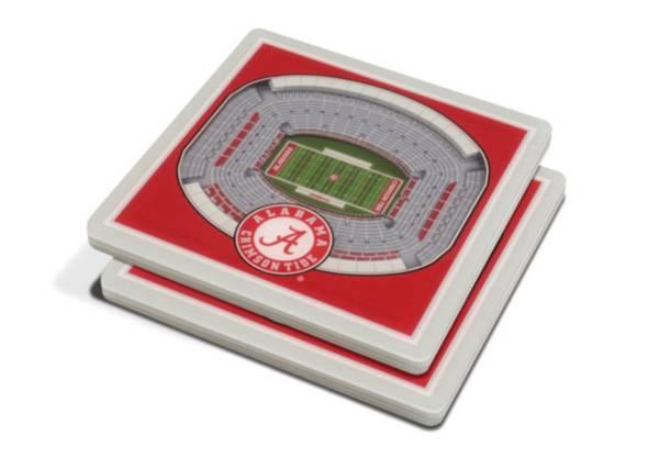 You the Fan Alabama Crimson Tide 3D Stadium Views Coaster Set product image