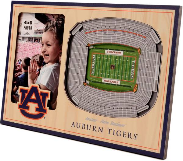 You the Fan Auburn Tigers 3D Picture Frame product image