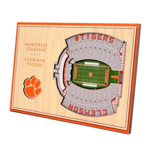 You the Fan Clemson Tigers Stadium Views Desktop 3D Picture product image