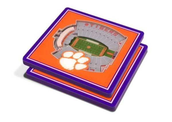 You the Fan Clemson Tigers 3D Stadium Views Coaster Set product image