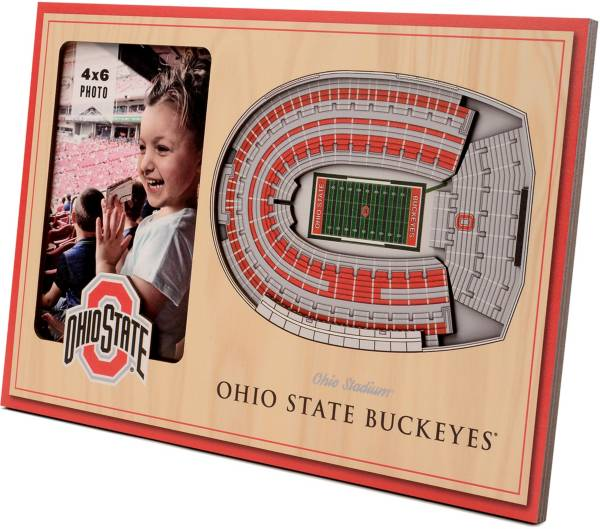You the Fan Ohio State Buckeyes 3D Picture Frame product image