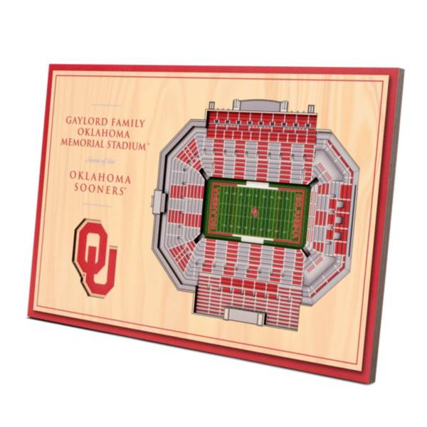 You the Fan Oklahoma Sooners Stadium Views Desktop 3D Picture product image