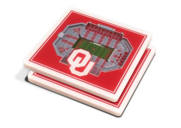 You the Fan Oklahoma Sooners 3D Stadium Views Coaster Set product image