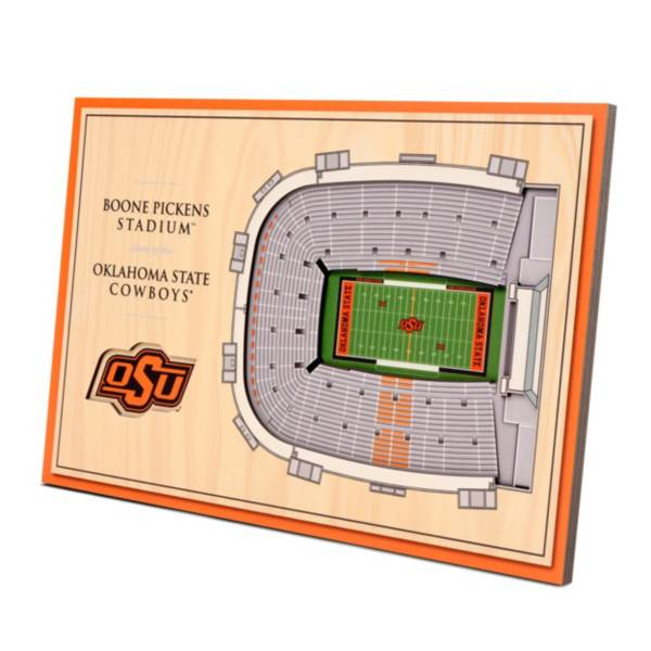 You the Fan Oklahoma State Cowboys Stadium Views Desktop 3D Picture product image